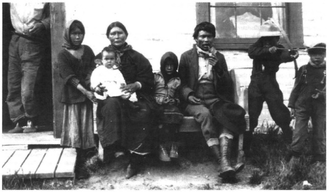 Sekani Indians, McLeod Lake, British Columbia, 1924