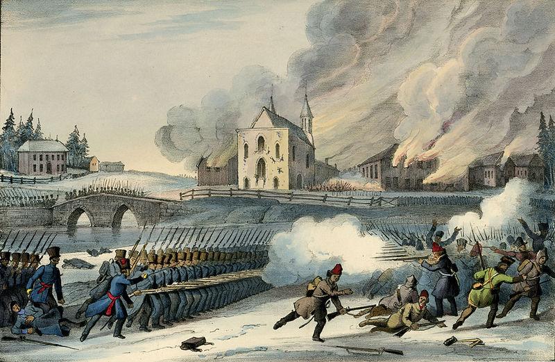 Bataille de Saint-Eustache, Décembre 1837